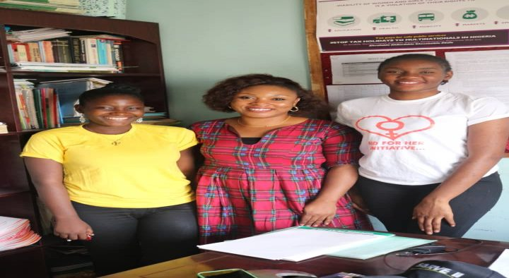 MISS IGALA NIGERIA PAYS A FAMILIARISATION VISIT TO PARTICIPATION INITIATIVE FOR BEHAVIOURAL CHANGE IN DEVELOPEMENT